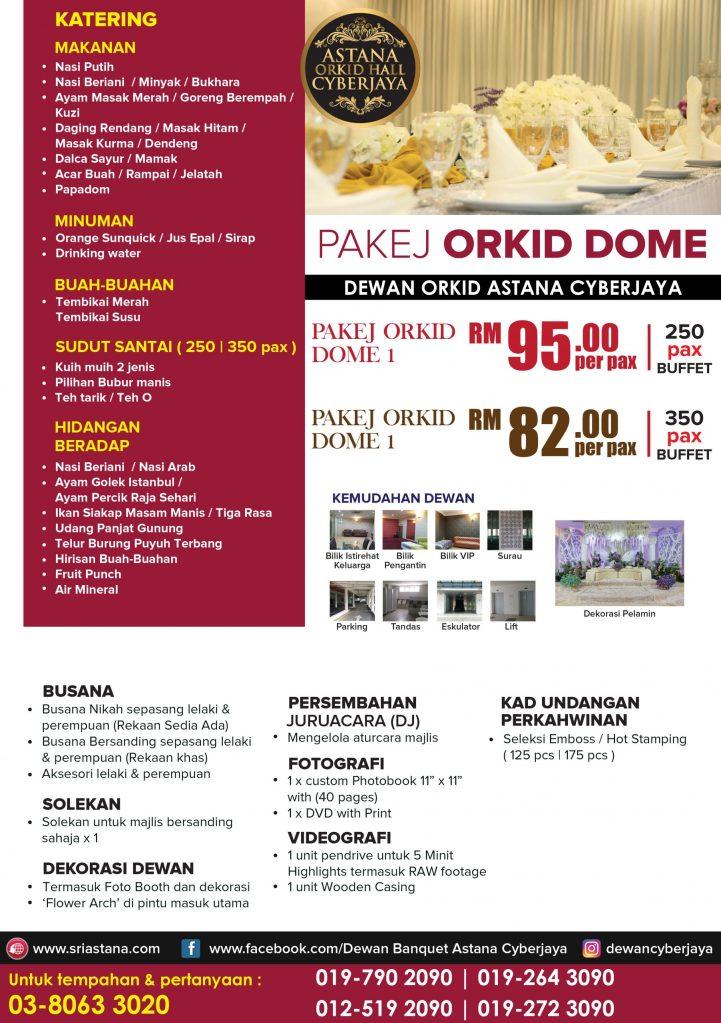 Pakej Orkid Dome 01