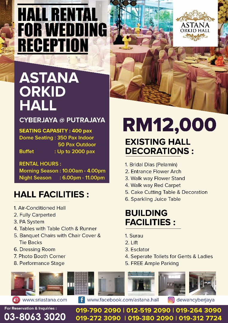 Rental Rate Orchid